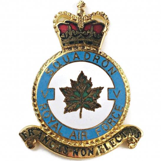 RAF Squadrons V 5 Squadron Royal Air Force PLAQUE Badge RAF