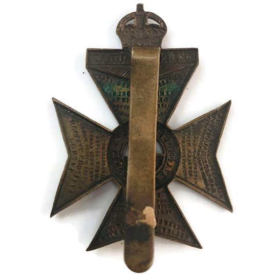 additional image for WW1 Kings Royal Rifle Corps KRRC Regiment (King's) Cap Badge