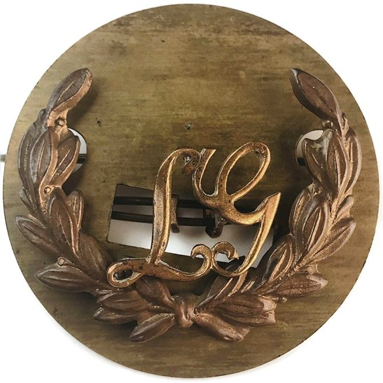 Trade / Arm WW1 Lewis Gunner Machine Gun Arm / Sleeve Proficiency Trade Badge  - DUAL CONSTRUCTION