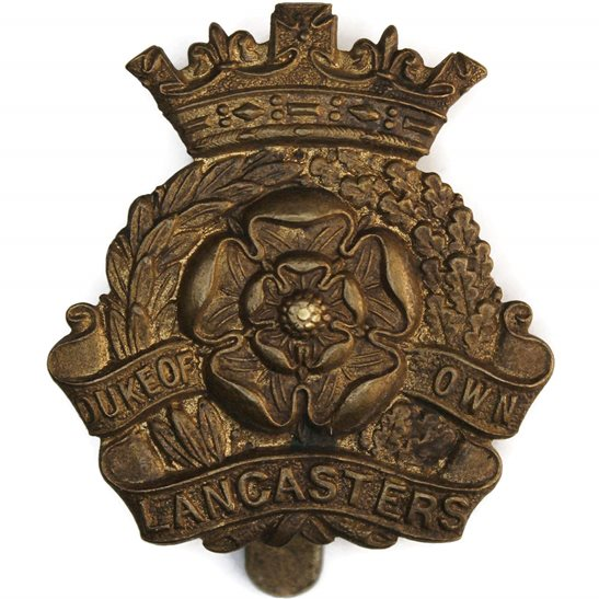 Duke of Lancasters Own Yeomanry Duke of Lancasters Own Yeomanry Regiment (Lancaster's) Cap Badge