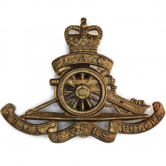 Honourable Artillery Company HAC Honourable Artillery Company HAC Cap Badge - Queens Crown