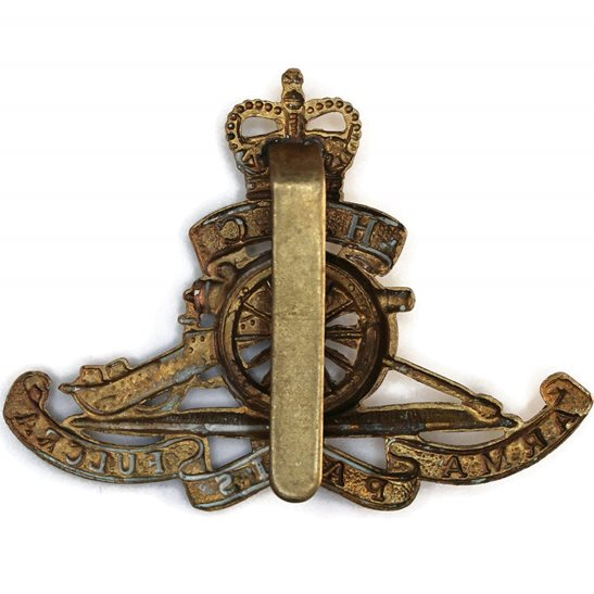 additional image for Honourable Artillery Company HAC Cap Badge - Queens Crown