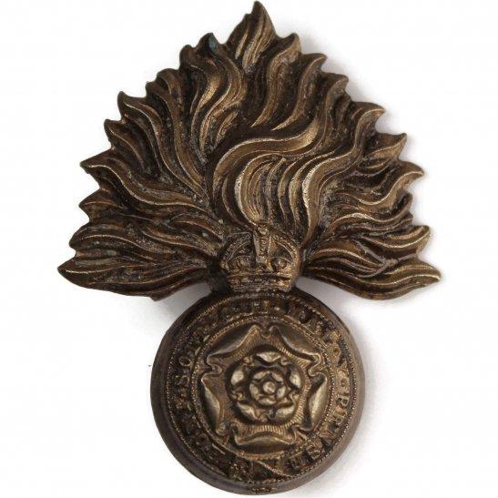 Royal London Fusiliers Royal London Fusiliers Regiment OFFICERS Bronze Collar Badge