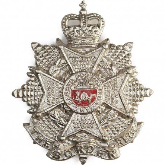 Border Regiment The Border Regiment Cap Badge - Queens Crown