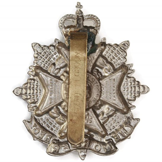 additional image for The Border Regiment Cap Badge - Queens Crown
