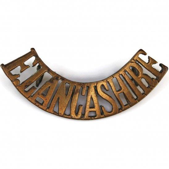 East Lancashire East Lancashire Regiment Shoulder Title