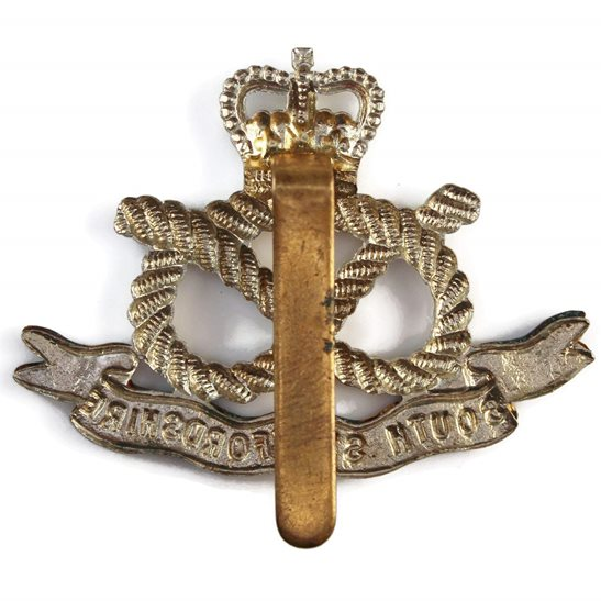 additional image for South Staffordshire Regiment Cap Badge - Queens Crown