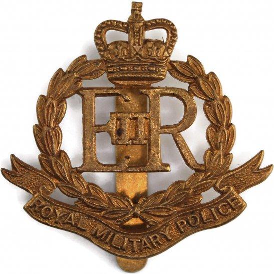 Royal Military Police RMP Royal Military Police Corps RMP Cap Badge (Elizabeth II) Queens Crown