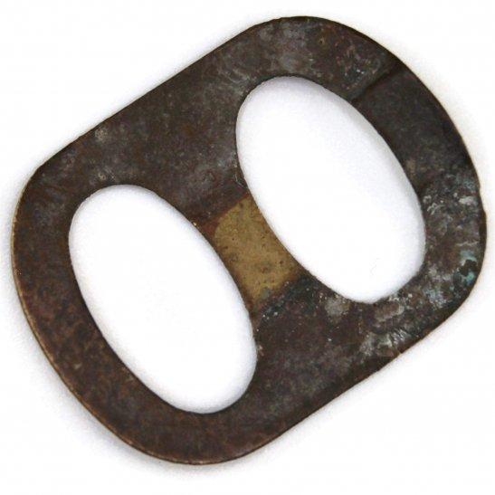 Original Issue WW1 Cap Badge Slider Retaining Backing Clip Fixing