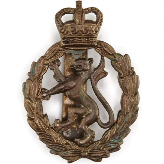Womens Royal Army Corps WRAC Womens Royal Army Corps WRAC Cap Badge - Queens Crown