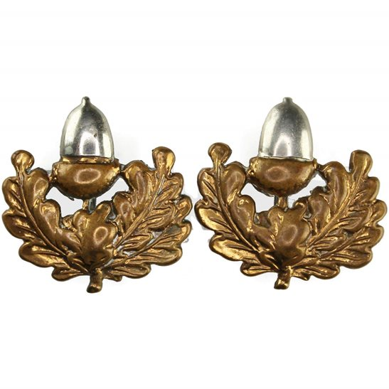Cheshire Regiment WW2 Cheshire Regiment Collar Badge PAIR
