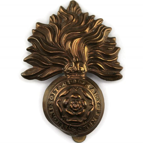Royal London Fusiliers WW1 Royal London Fusiliers Regiment Cap Badge