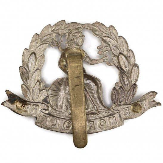 additional image for WW1 Norfolk Regiment Cap Badge - FIRST PATTERN