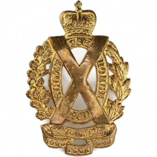 Scottish Horse Scottish Horse Regiment Collar Badge