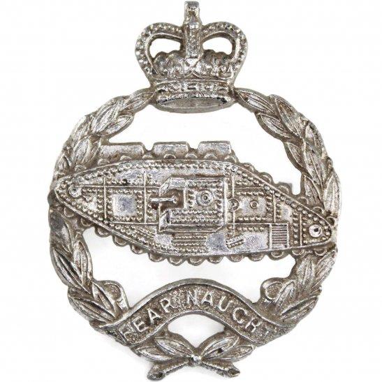 Royal Tank Regiment Royal Tank Regiment Staybrite Anodised Cap Badge - Staybright