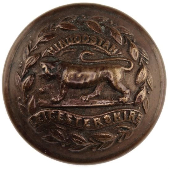 Leicestershire Regiment Leicestershire Regiment Tunic Button - 26mm