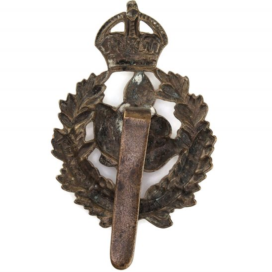 additional image for WW1 Queens Own Worcestershire Hussars Regiment Cap Badge