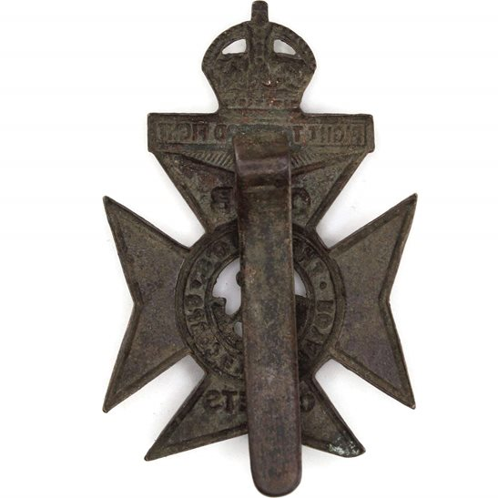 additional image for Kings Royal Rifle Corps KRRC Regiment Church Lads Brigade CLB Cadets (King's) Cap Badge