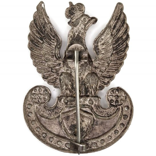 additional image for WW2 Free Polish Navy (Naval Forces In Exile) Cap Badge