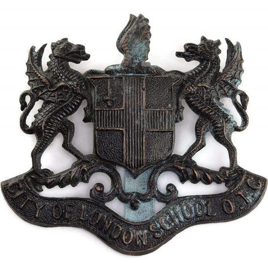 Officer Training Corps OTC City of London School OTC Officers Training Corps College Cap Badge