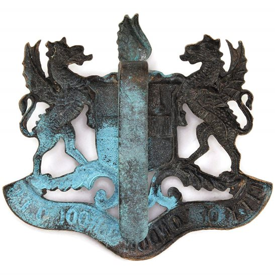 additional image for City of London School OTC Officers Training Corps College Cap Badge