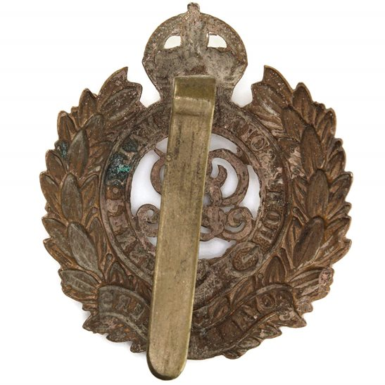 additional image for WW1 Royal Engineers Corps (George V) Cap Badge