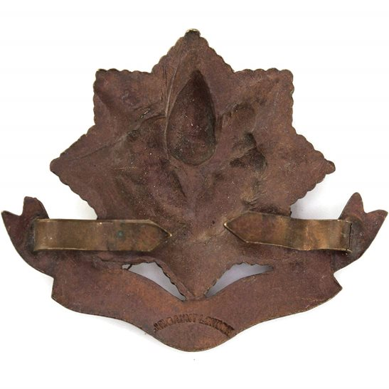 additional image for WW1 Cheshire Regiment BRONZE Officers Cap Badge - J.R.GAUNT