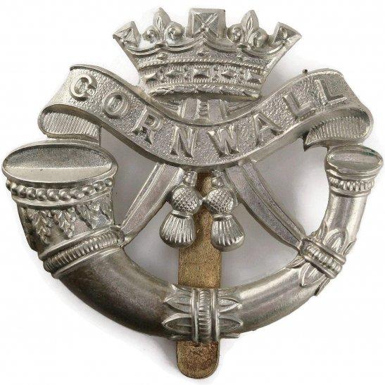 Duke of Cornwalls Light Infantry WW2 Duke of Cornwalls Light Infantry DCLI (Cornwall's) Regiment Cap Badge