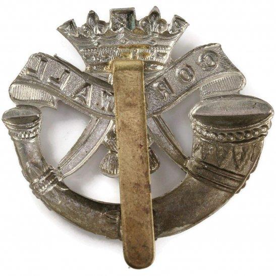 additional image for WW2 Duke of Cornwalls Light Infantry DCLI (Cornwall's) Regiment Cap Badge
