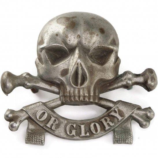 17th Lancers WW1 17th Lancers Deaths Head (Duke of Cambridge's Own) Regiment Cap Badge