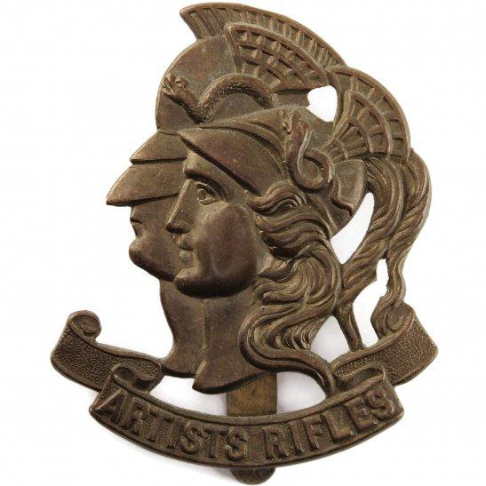 Artists Rifles WW1 Artists Rifles, 28th Battalion London Regiment Artist's Cap Badge