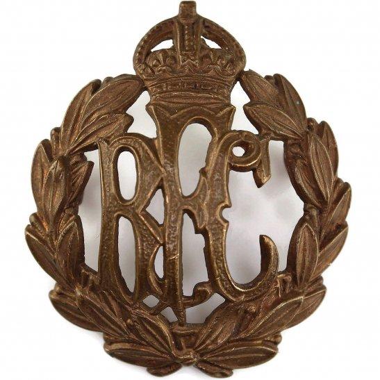 Royal Flying Corps RFC WW1 Royal Flying Corps RFC Cap Badge