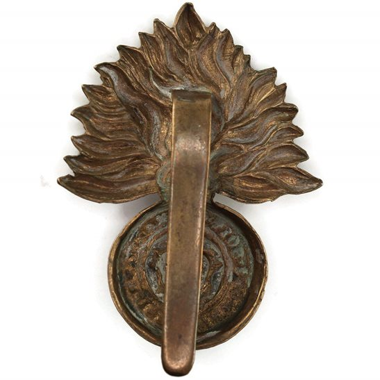 additional image for WW1 Royal London Fusiliers Regiment Cap Badge