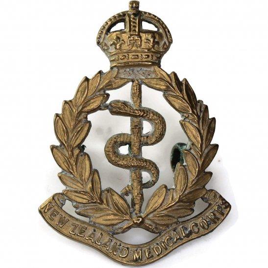 WW1 New Zealand Army WW1 New Zealand Army Medical Corps NZMC Cap Badge