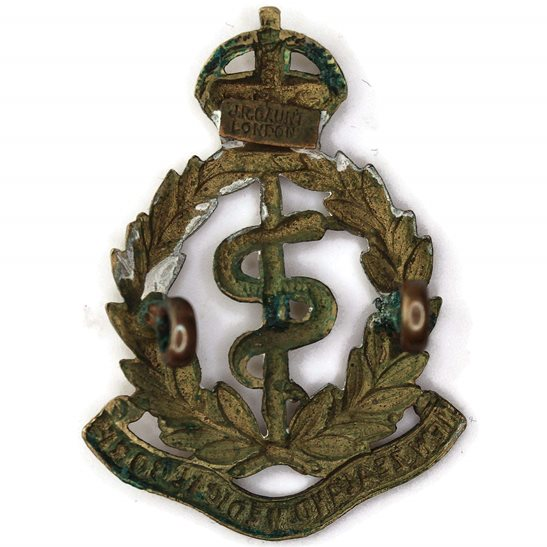 additional image for WW1 New Zealand Army Medical Corps NZMC Cap Badge