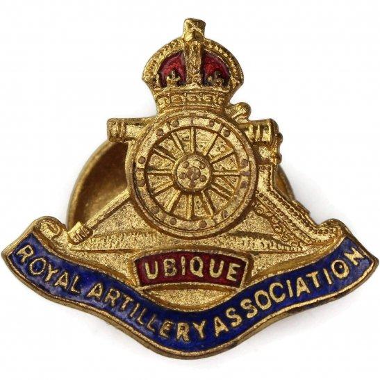 Royal Artillery Royal Artillery Regiment Old Comrades Association OCA Lapel Badge