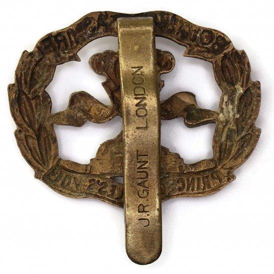 additional image for WW2 South Lancashire Regiment BERET SIZE Cap Badge - J.R.GAUNT LONDON