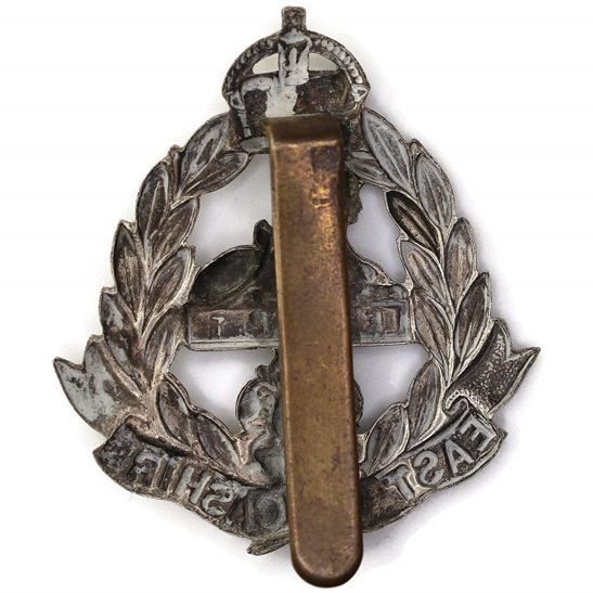 additional image for WW1 East Lancashire Regiment Cap Badge