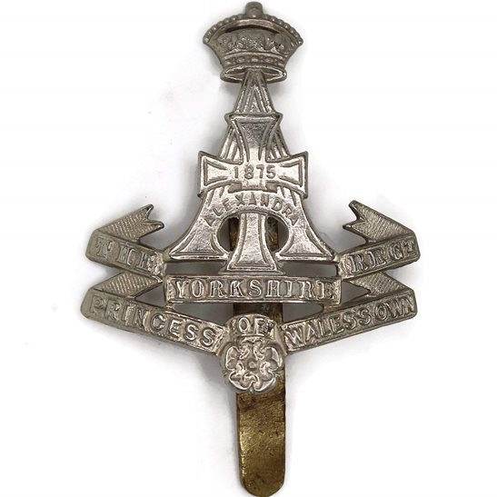 Yorkshire (Green Howards) WW1 Yorkshire (Green Howards) Regiment Cap Badge