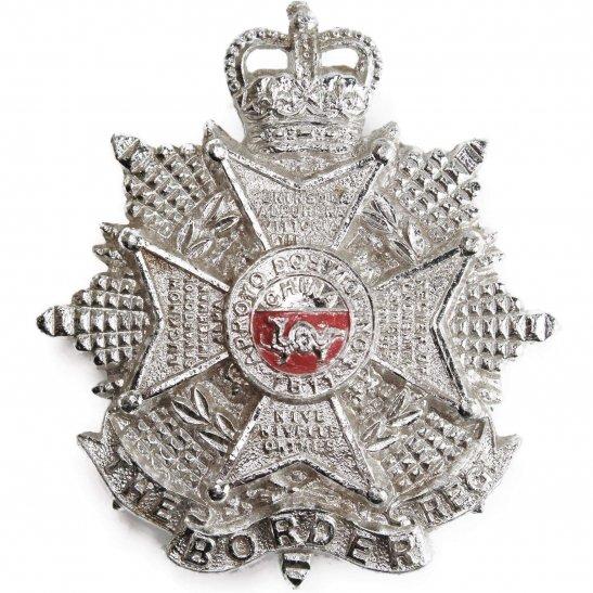 Border Regiment The Border Regiment Staybrite Anodised Cap Badge - Staybright