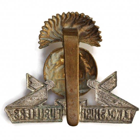 additional image for WW1 Lancashire Fusiliers Regiment Cap Badge