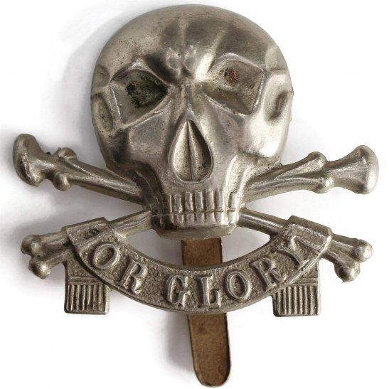 17th / 21st Lancers 17th / 21st Lancers (Deaths Head) Regiment Cap Badge