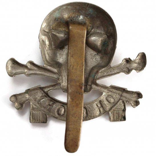 additional image for 17th / 21st Lancers (Deaths Head) Regiment Cap Badge