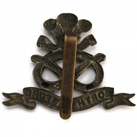 additional image for WW1 North Staffordshire (Stafford) Regiment Cap Badge
