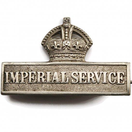 Territorial Battalions WW1 Territorial Imperial Service Overseas Lapel Badge