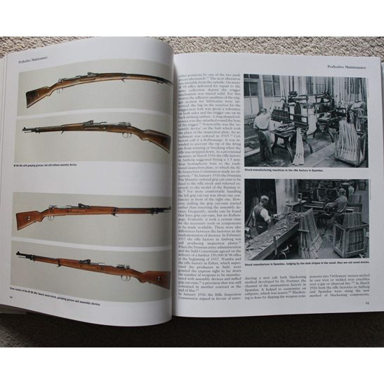 additional image for German Army Mauser Rifle & Carbine 98 WW1 M98 Collectors Reference Guide Book - UK POSTAGE ONLY