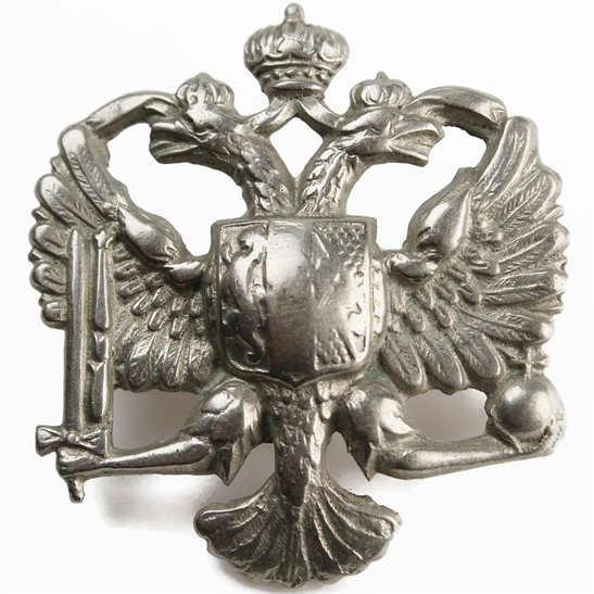 1st Kings Dragoon Guards 1st Kings Dragoon Guards Regiment KDG (King's) Cap Badge - 2ND PATTERN
