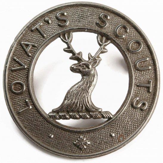 Lovat's Scouts The Lovat Scouts Regiment Lovat's Scottish Cap Badge