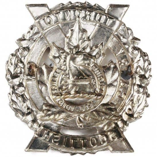 additional image for Canadian Army Toronto Scottish Regiment CEF Cap Badge