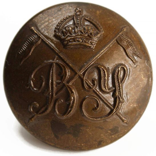 Bedfordshire Yeomanry Bedfordshire Yeomanry Regiment Tunic Button - 26mm